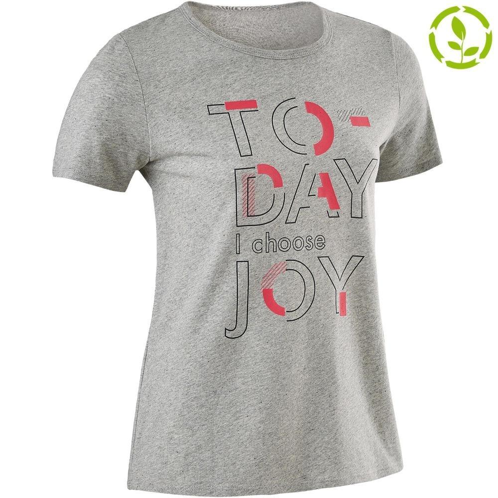 645034352 camiseta manga corta reciclada 100 niña gimnasia júnior. Cargando zoom.