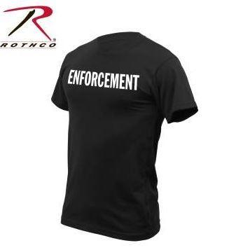 camiseta manga corta rothco enforcement