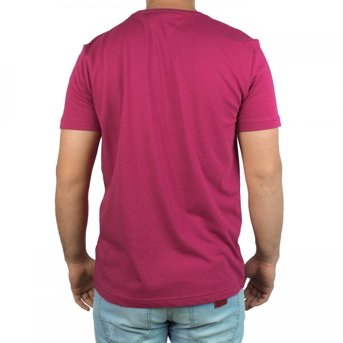 4a4927dfc152d Camiseta Masculina Tommy Hilfiger Básica Manga Curta - R  179