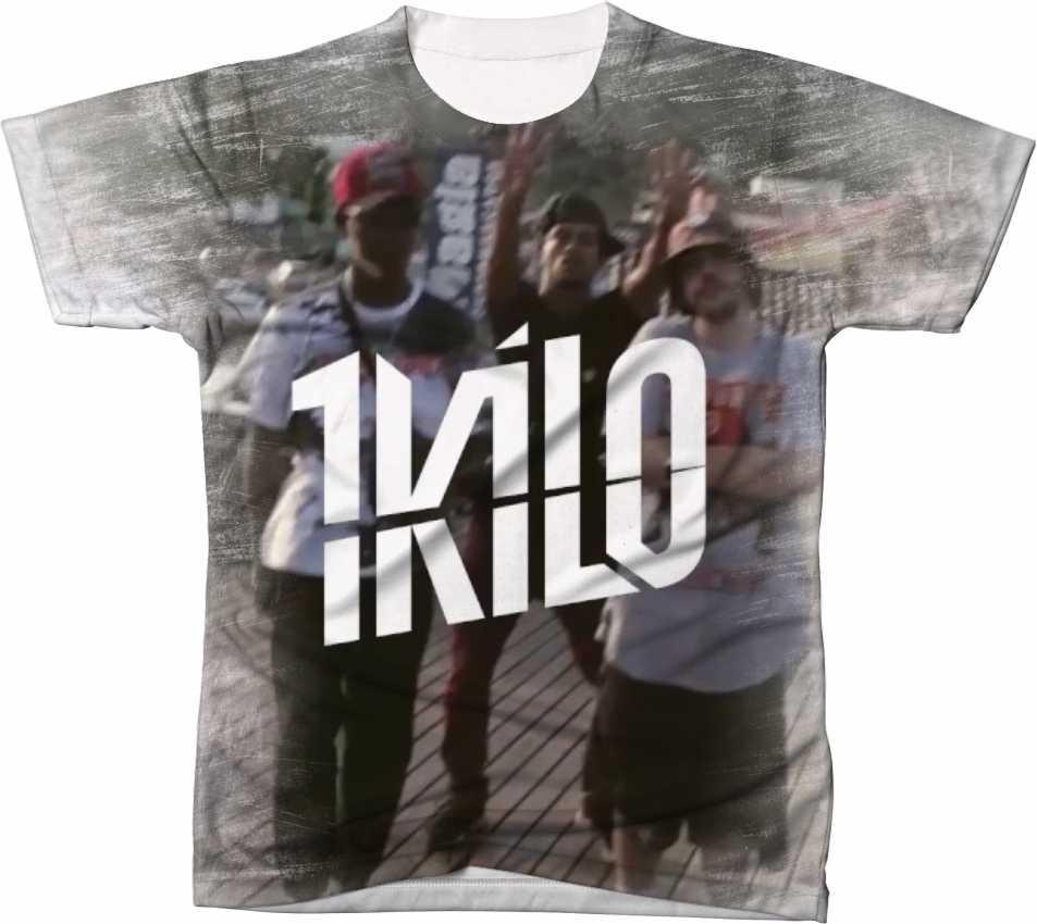 Camisa Camiseta Manga Curta 1 Kilo Rap Hip Hop Música 5 - R  44 4c85bc13da57d