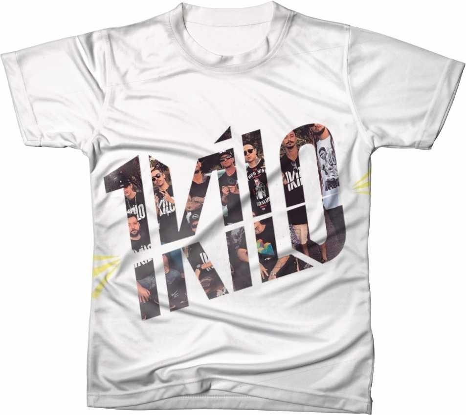 Camisa Camiseta Manga Curta 1 Kilo Rap Hip Hop Música 3 - R  44 6e96368f24144