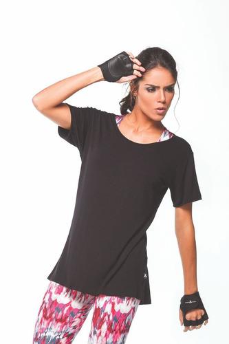 camiseta manga curta academia elasti - movimento e companhia