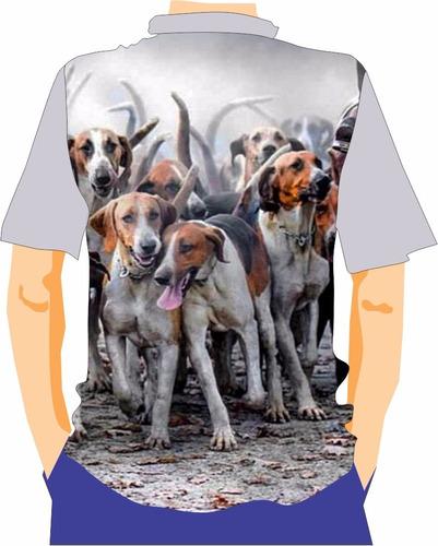 camiseta  manga curta caçadores brs - foxhound 1