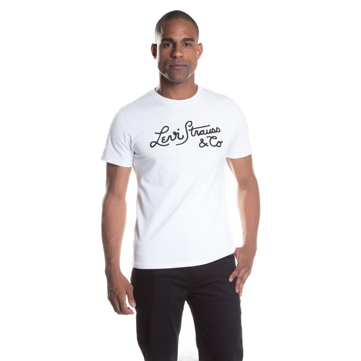 camiseta manga curta masculina levis 223690032. Carregando zoom. 5f0d0a30c90