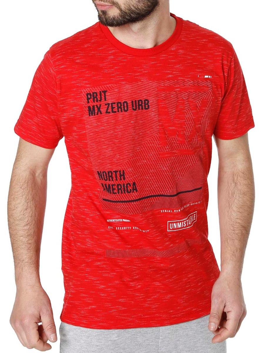 1456a458f camiseta manga curta masculina vermelho. Carregando zoom.