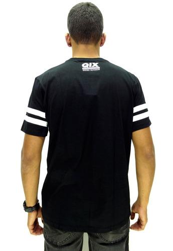 camiseta manga curta qix skt 93 sem capuz black