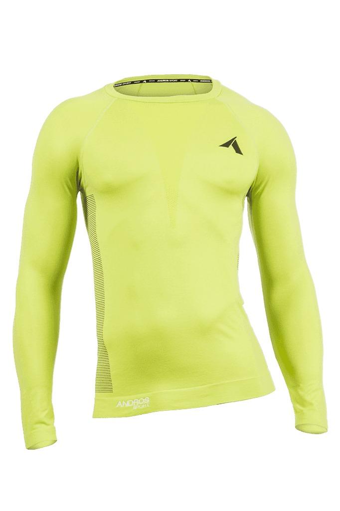 28cffd63b8c8e camiseta manga larga andros termica hombre sport (5386). Cargando zoom.