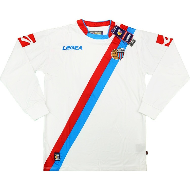 Camiseta Catania Futbol Larga Calcio Manga Italia Legea vIf7Yb6gy