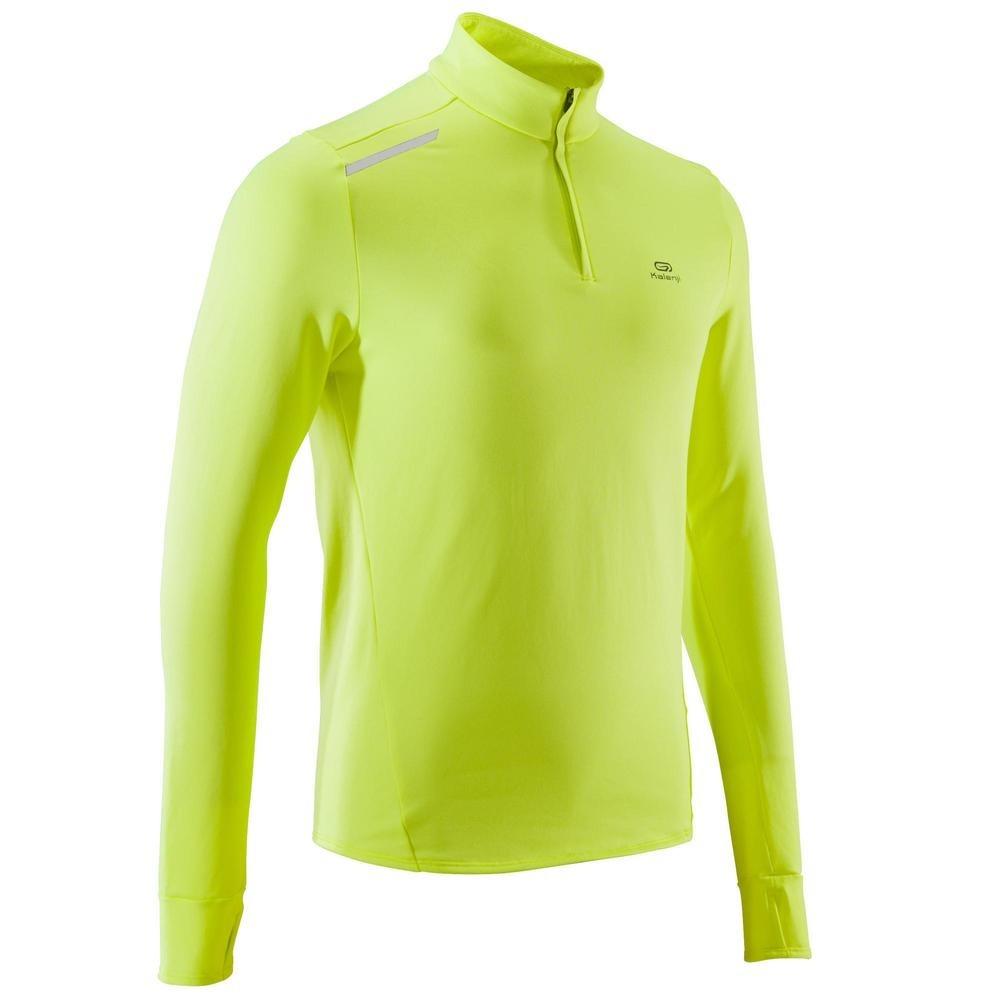 64da5f747be70 camiseta manga larga running hombre run warm amarillo. Cargando zoom.