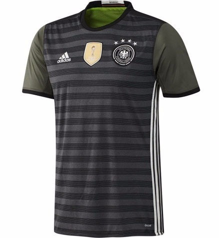 camiseta manga larga selección alemania 2016/17 alternativa