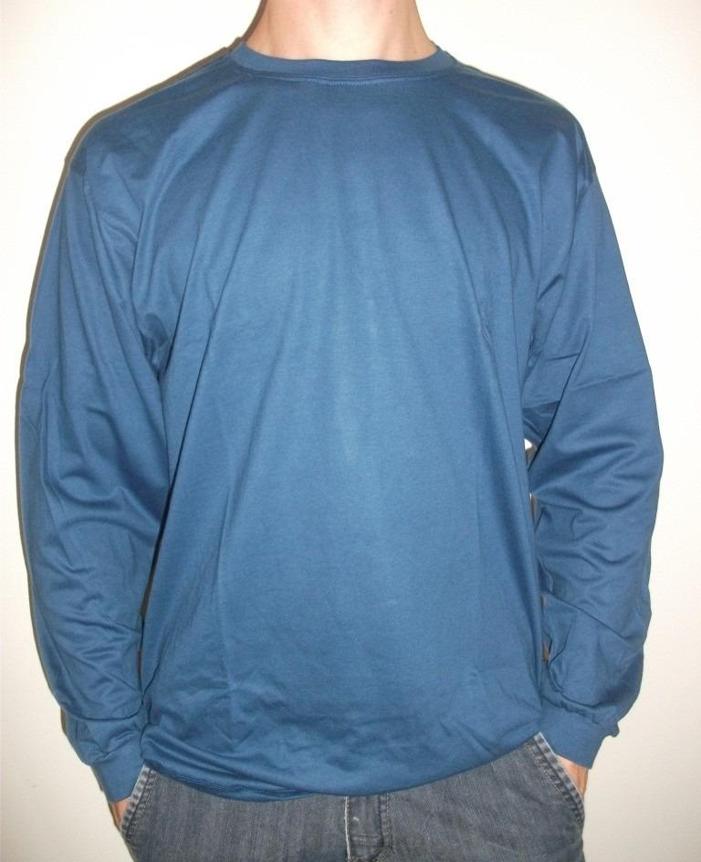 4cdddaa26 Carregando zoom... manga longa camiseta · camiseta manga longa malha fria  dry fit 100%poliester cores