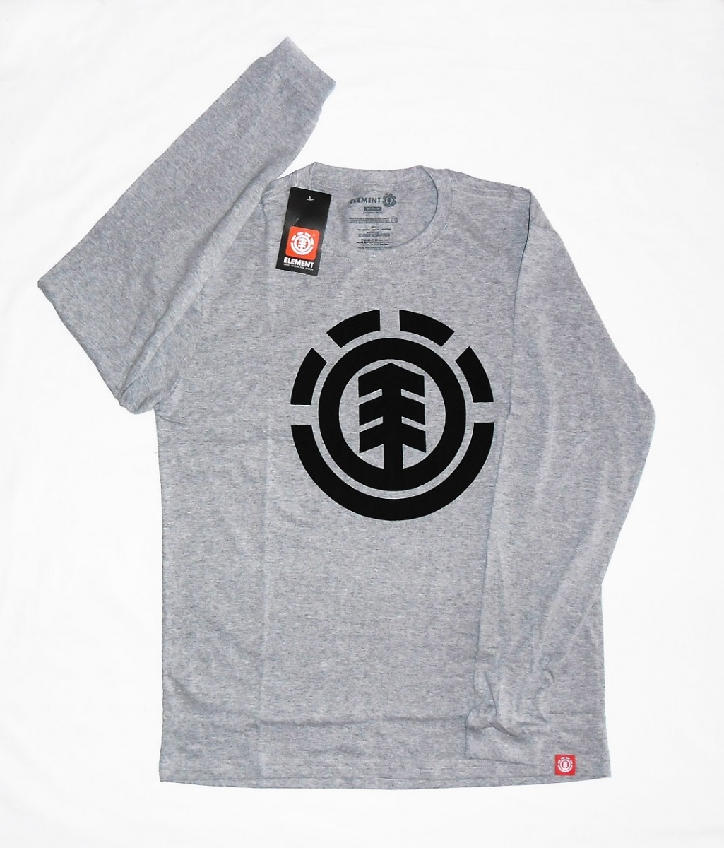 273bc4df6 Camiseta Manga Longa Element Skateboards - R  59