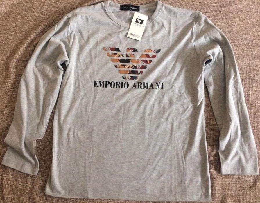 778154f2f974e Camiseta Manga Longa Armani Masculina Original - Tamanho P - R  309 ...