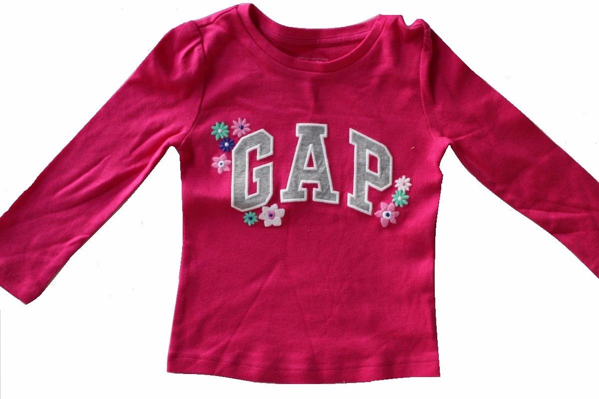 3752d47fe3 Camiseta Manga Longa Infantil Gap Original - 2