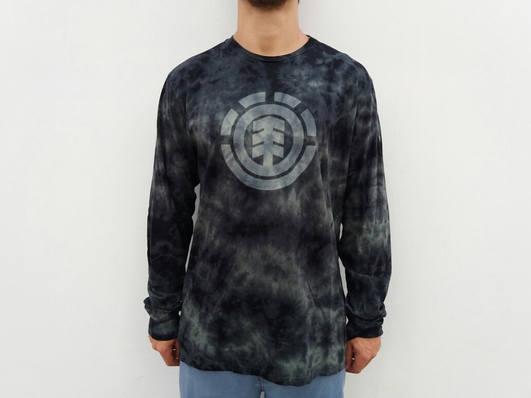 12cd4ede5 Camiseta Manga Longa Element Skateboards Tie Dye Original - R  169 ...