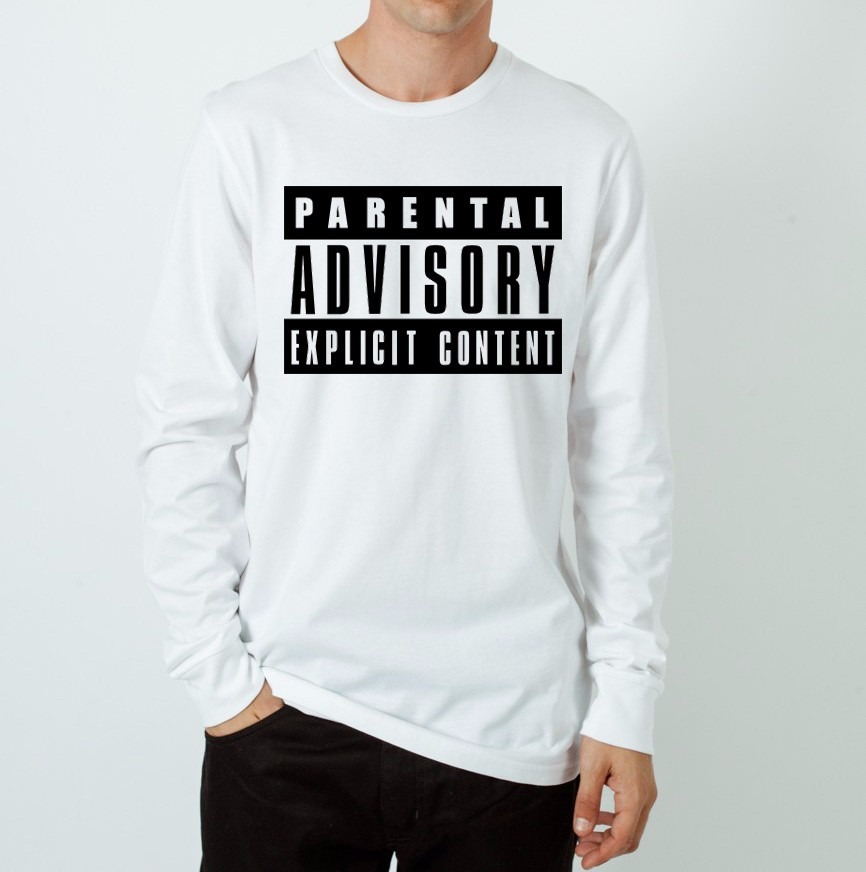 76390857f Camiseta Manga Longa Parental Advisory Young Money Cash - R  49