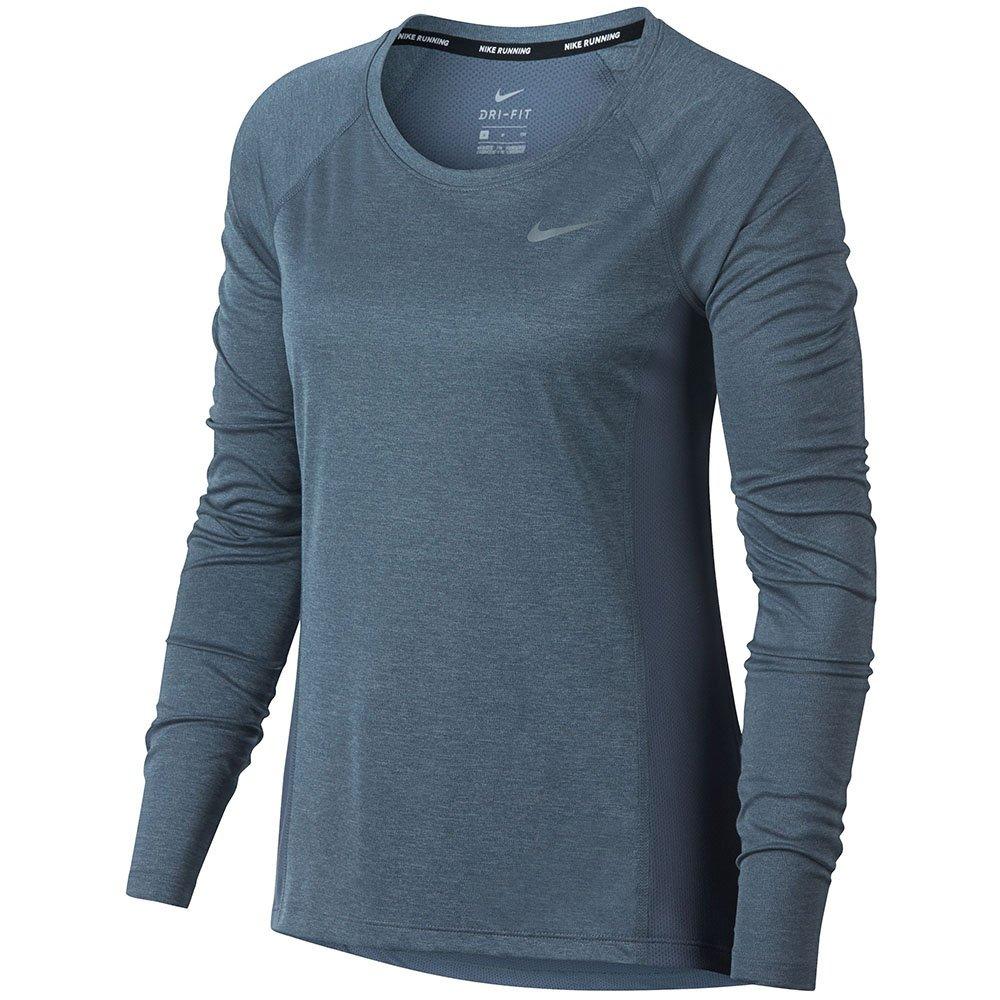 8f55f896a Oferta Nike Camiseta Manga Longa Feminino+ Bolsa Academia Nf - R ...