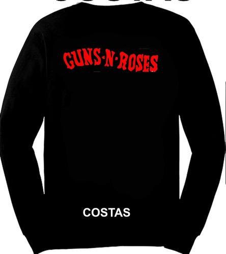 camiseta manga longa guns n roses cartola ref=315