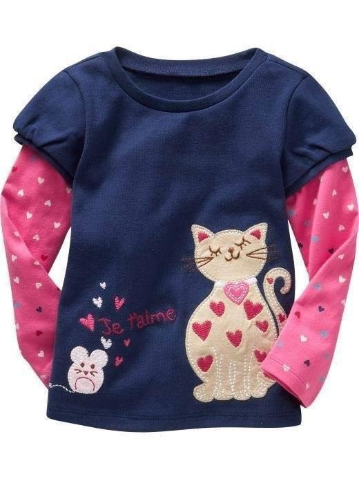 Camiseta Manga Longa Infantil Menina 5 Anos - R  36 fc0763c29cd