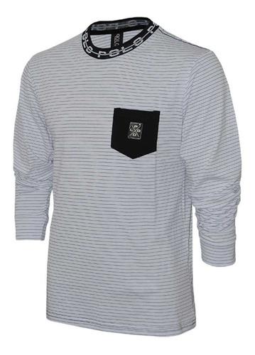 camiseta manga longa/ liquidação de inverno polo rg518