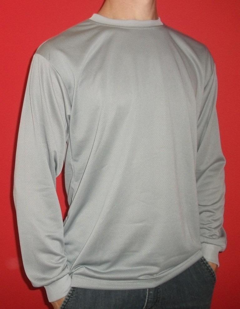 523023a4c camiseta manga longa malha fria dryfit 100%poliester cores. Carregando zoom.