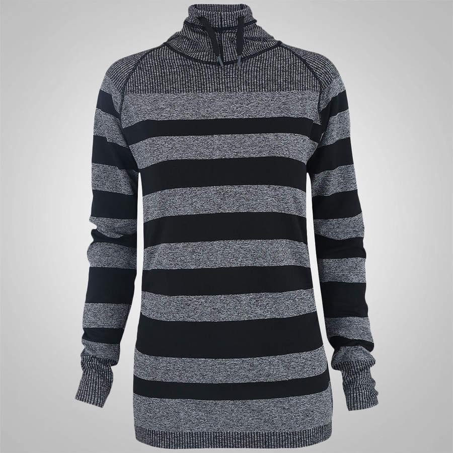 afcb0c454f camiseta manga longa oxer seamless listrada - cinza. Carregando zoom.