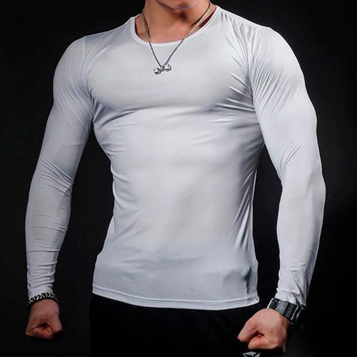camiseta manga longa proteção solar uv50 ice tecido gelado