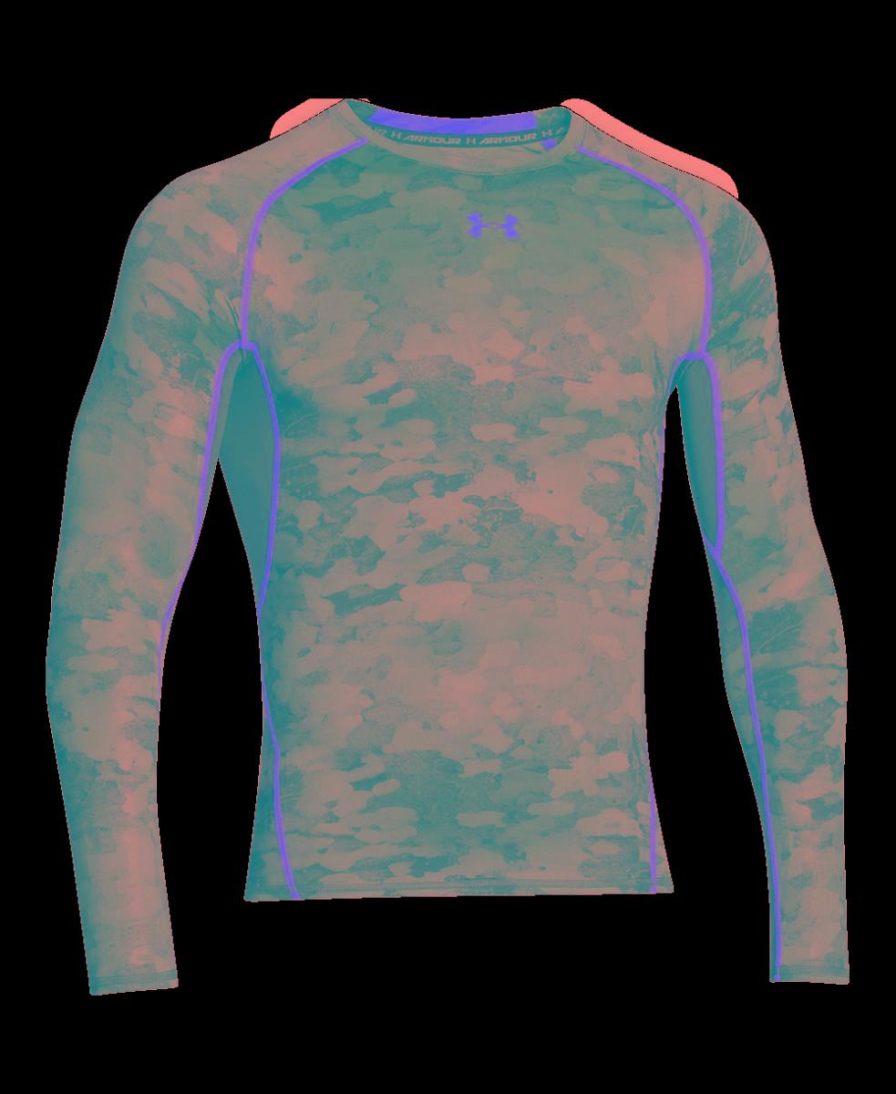5be3c129a4 camiseta manga longa under armour de compressão hg printed. Carregando zoom.