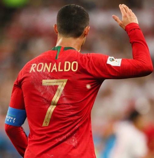 ab350541f4b48 Camiseta Mangas Largas Portugal Cristiano Ronaldo Rusia2018 ...