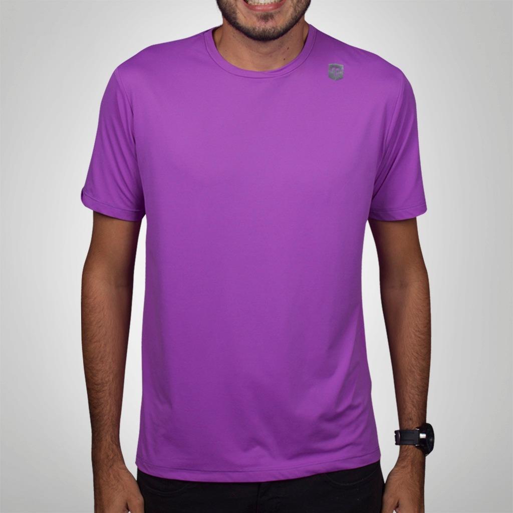 767f0d463 camiseta mantle poliamida roxa masculina com proteção uv. Carregando zoom.