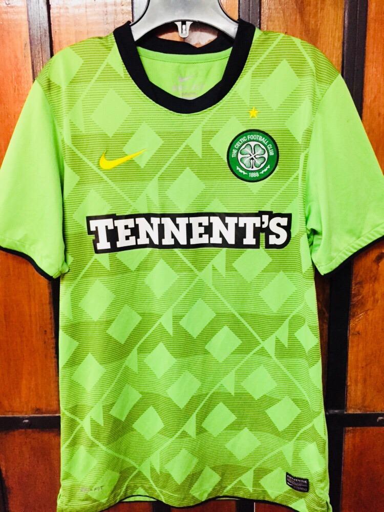 Nike De Escocia S Celtic Marca Del Talla Camiseta Football Bpqwz5W