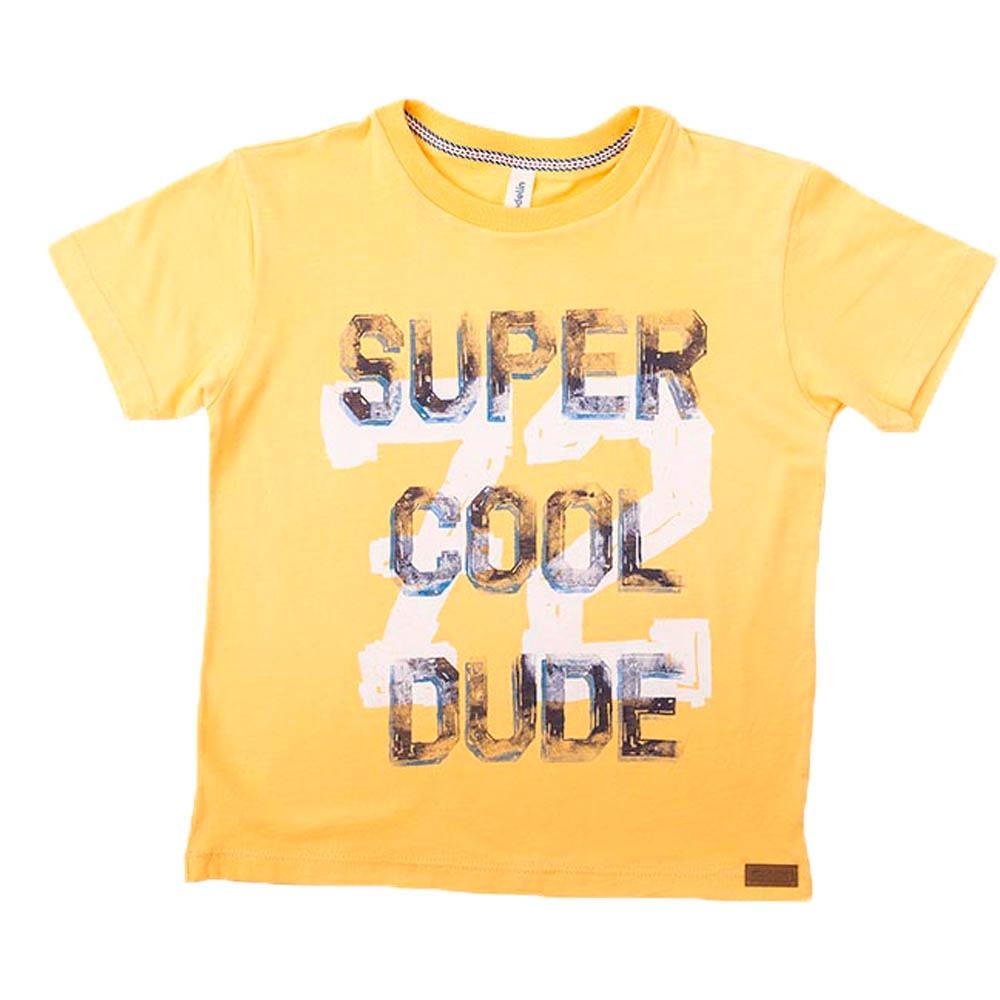 47638f92d Camiseta Marcos Amarilla Estampado Texto Para Niño-4 -   26.900 en ...
