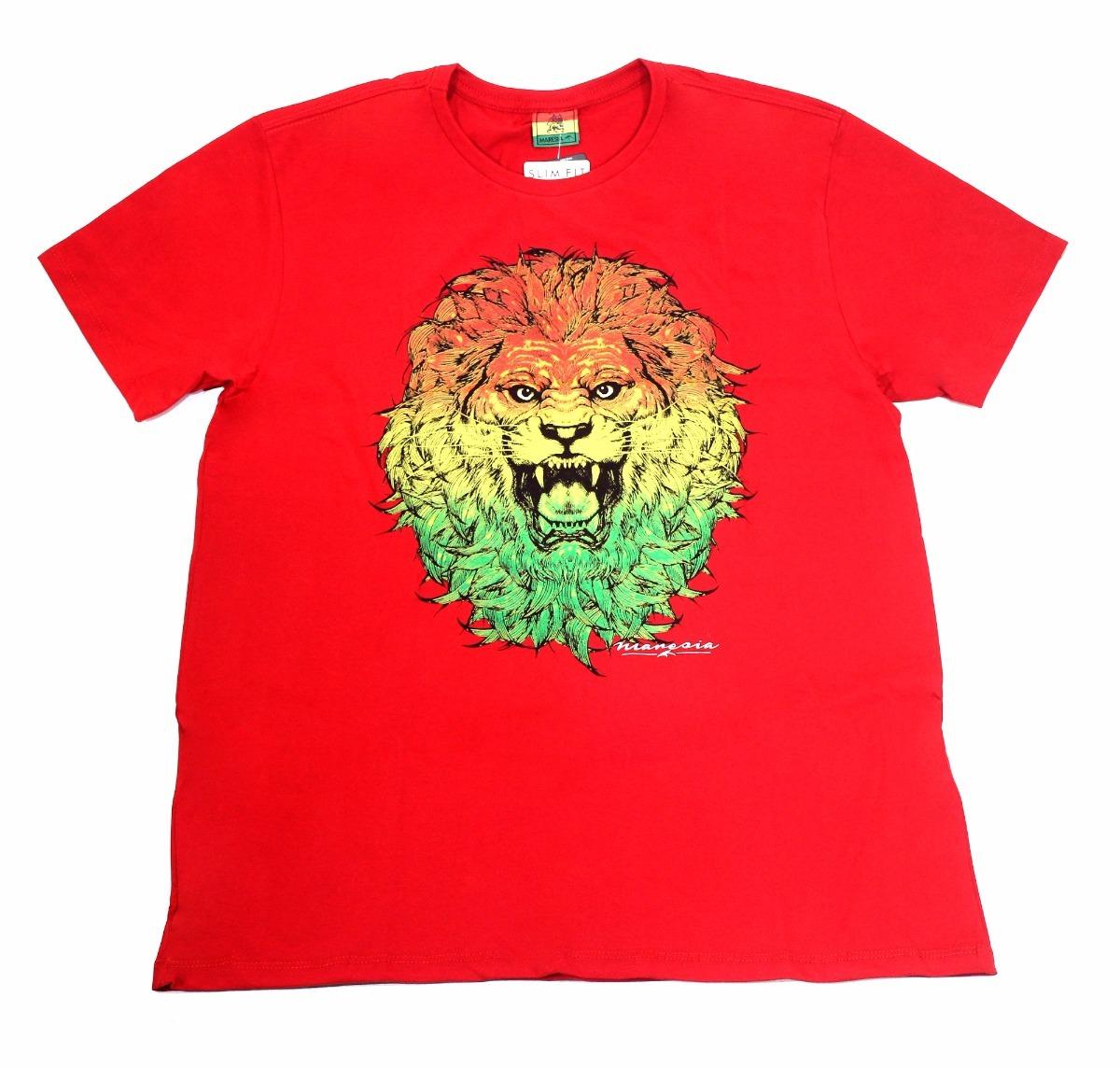 6de27efa6a camiseta maresia leão do reggae malha slim fit 100% algodão. Carregando  zoom.