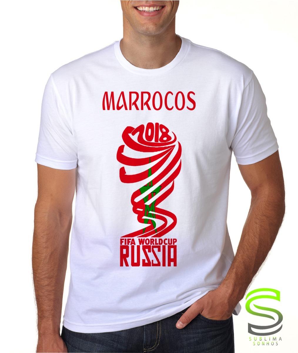 710dcf2b122f8 camiseta marrocos copa seleção 2018. Carregando zoom.