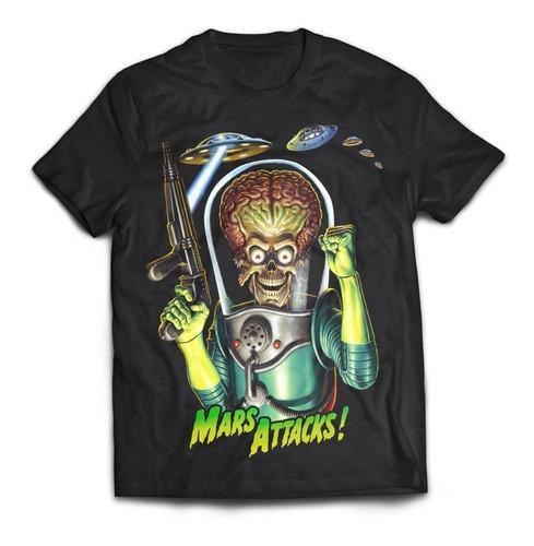 camiseta mars attacks 90s pelicula rock activity