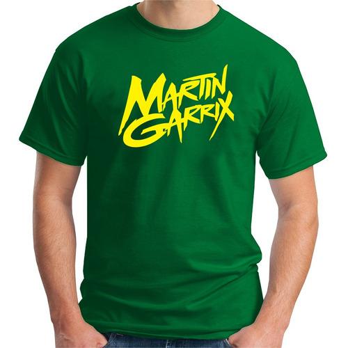 camiseta martin garrix masc - algodão - dj  remixer festival