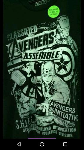camiseta marvel avengers original