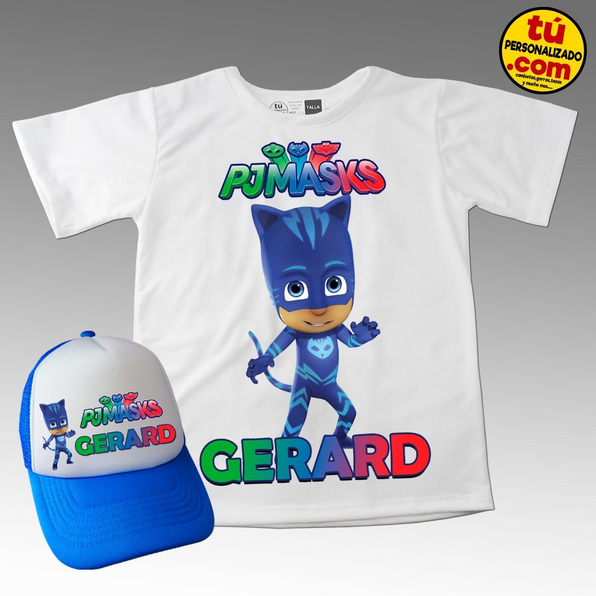63f72df614a79 Camiseta Mas Gorra Combo Heroes En Pijamas Niños Algodon -   35.000 ...