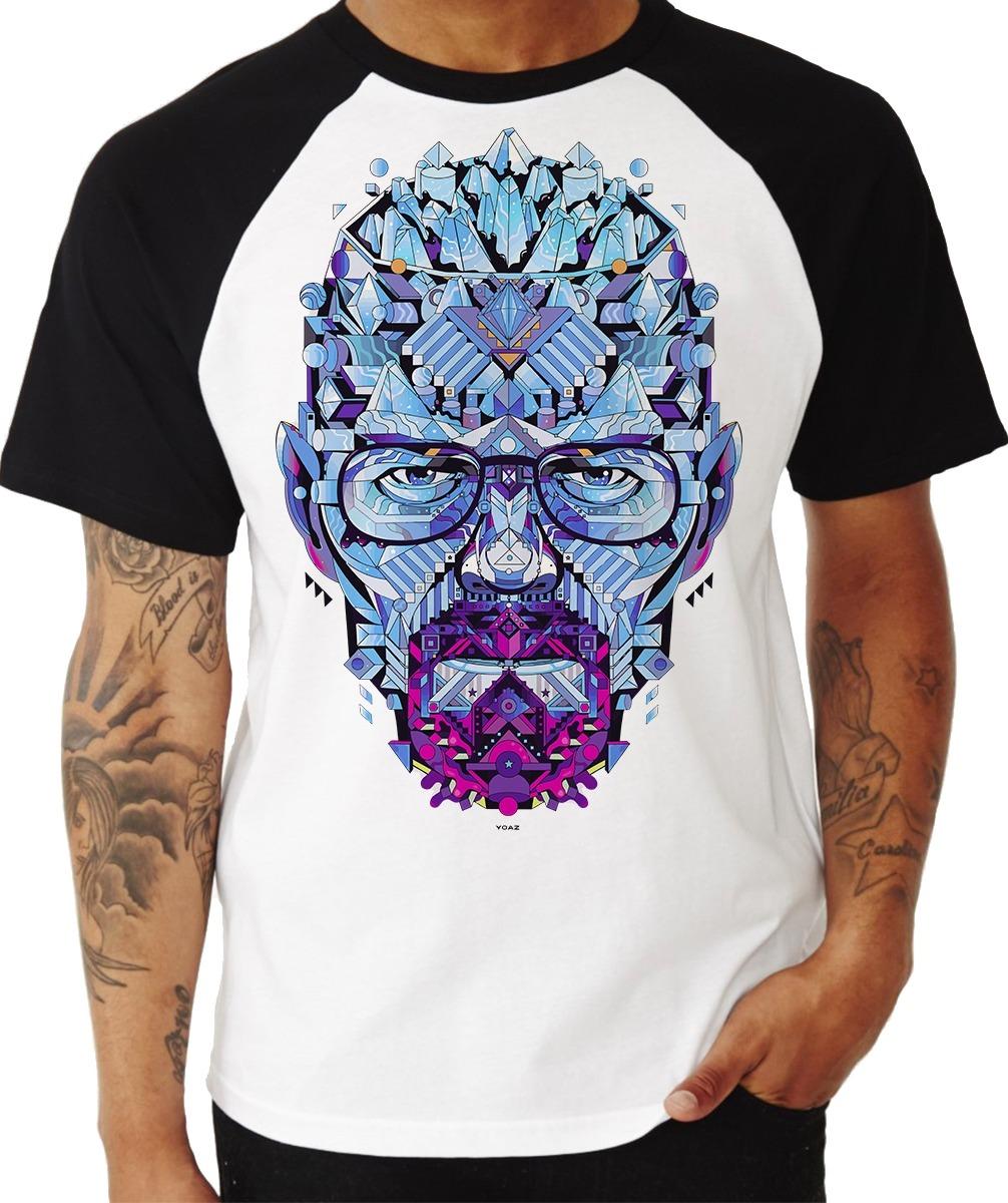2f7184b9b camiseta masculina 100% poliéster - breaking bad. Carregando zoom.