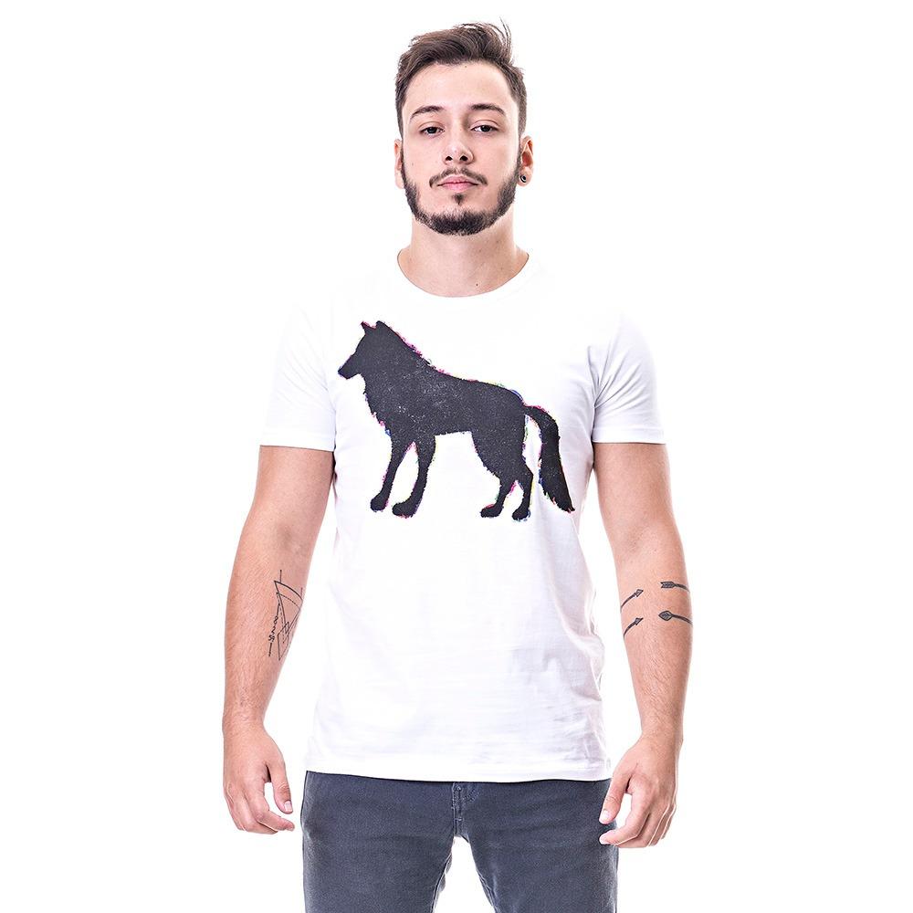 44b62cc18e camiseta masculina acostamento branca estampa. Carregando zoom.
