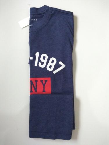 camiseta masculina básica aeropostale - camiseta hollister