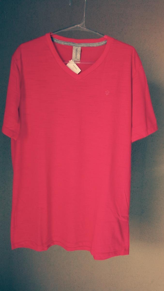 6c6761217e camiseta masculina basica gola v flame-cativa-h30238. Carregando zoom.