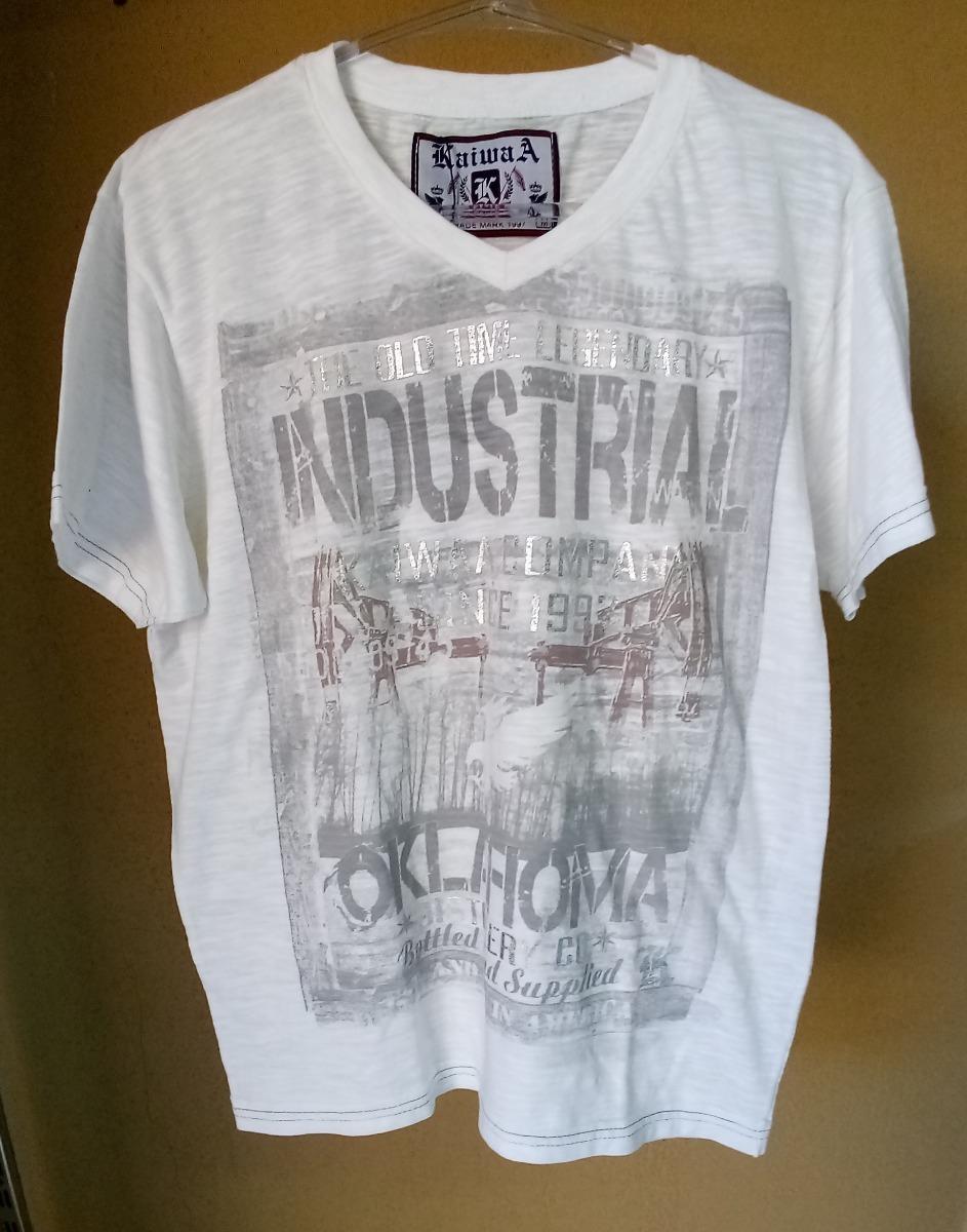 f632e2c737 camiseta masculina basica gola v flame-m-kaiwaa. Carregando zoom.