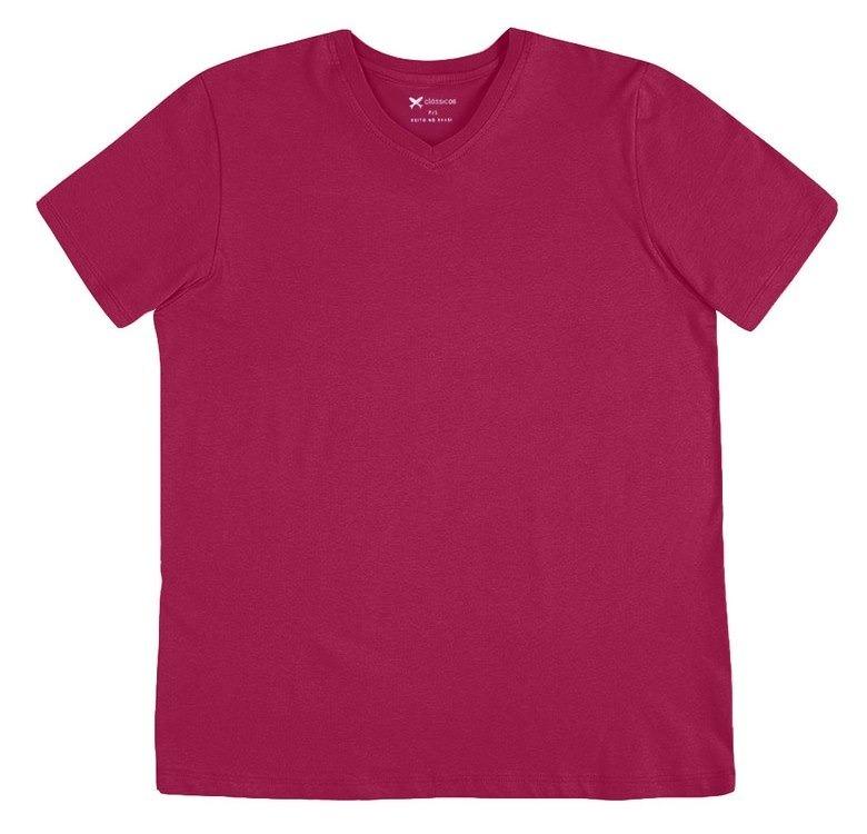0deeebc78e58e Camiseta Masculina Básica Hering Decote V ( 022b )r22 - R  37