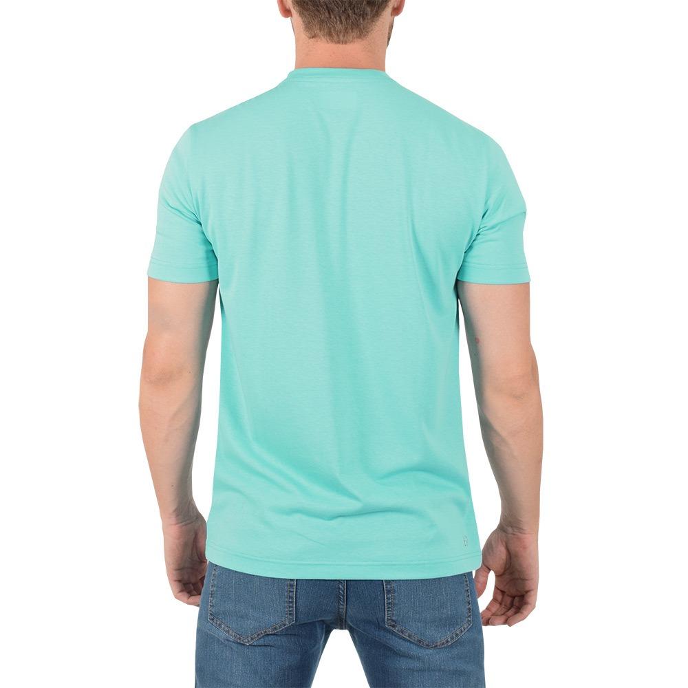 c509905d2ca Carregando zoom... camiseta masculina básica sport - azul - lacoste