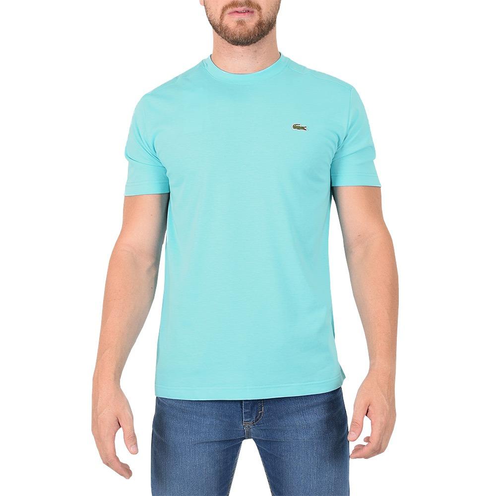 4e94408abe3 camiseta masculina básica sport - azul - lacoste. Carregando zoom.
