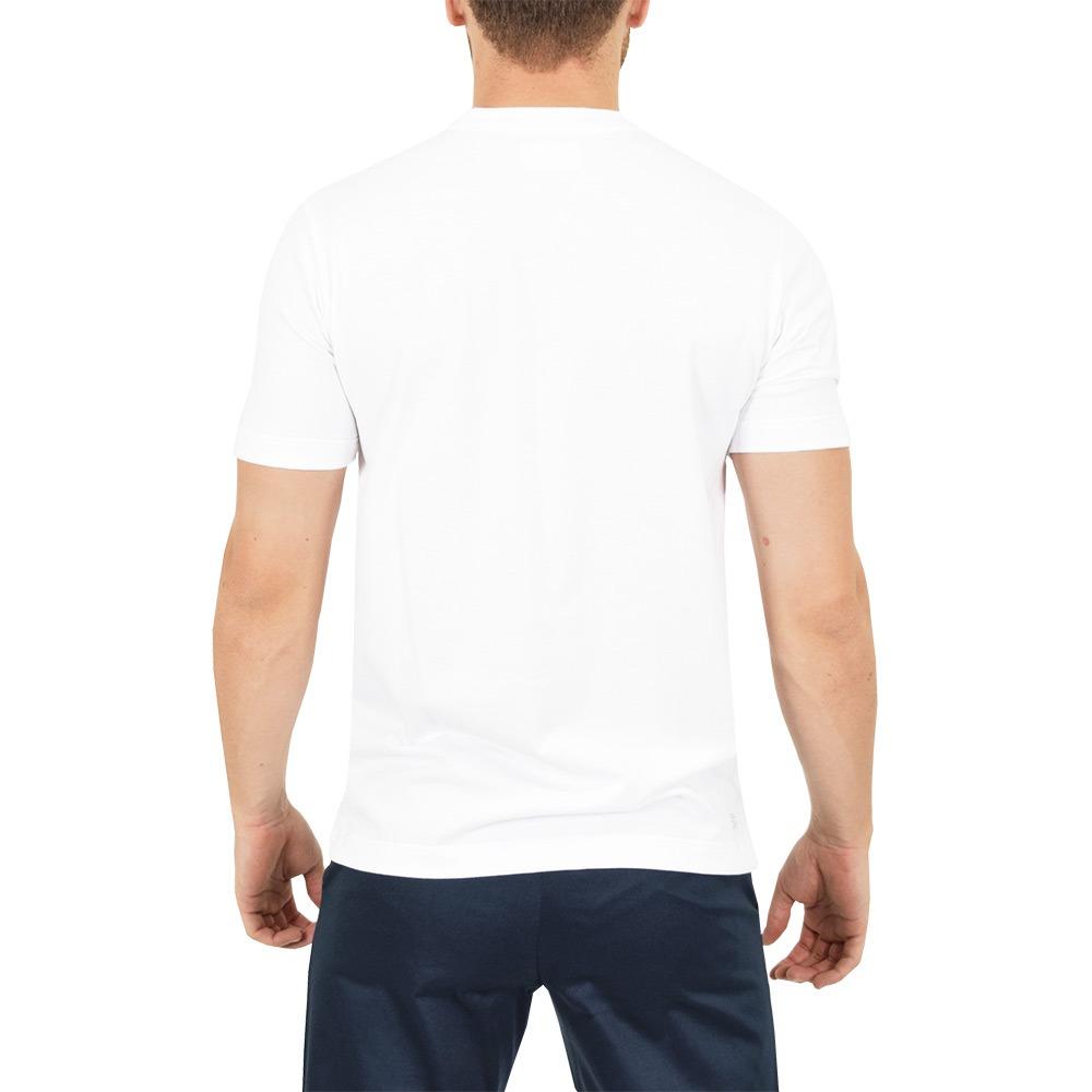 aff10e23045 Carregando zoom... camiseta masculina básica sport - branca - lacoste