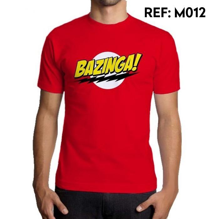 Camiseta Masculina Bazinga The Big Bang Theory Séries Geek - R  49 ... ad41fe16bda
