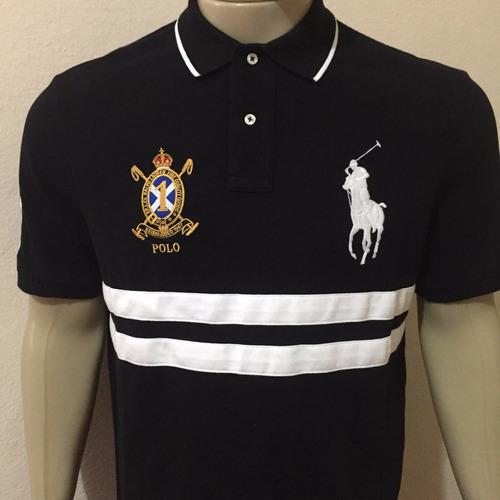camiseta masculina big pony polo ralph lauren original