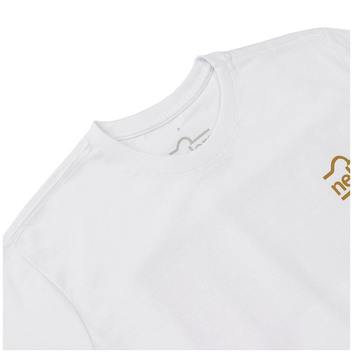 dfc1d68c49ba2 Camiseta Masculina Branca Estampada - Nelore 17484 - R  63